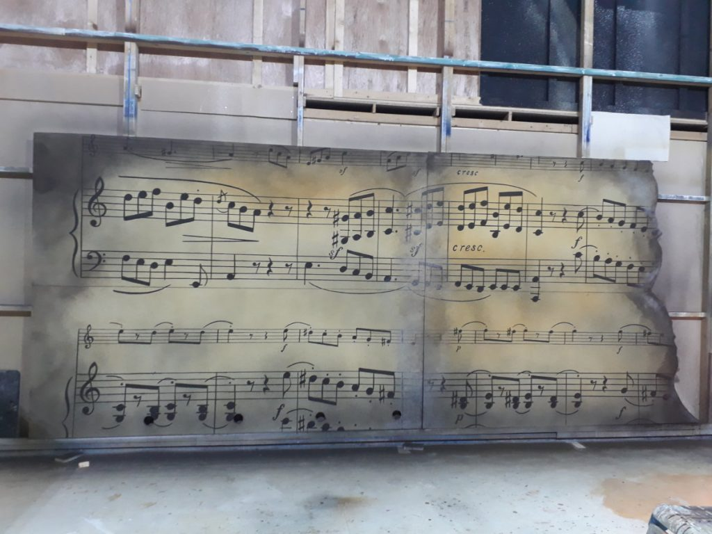 The Borrowers – SR music flats pictured in DSH workshop