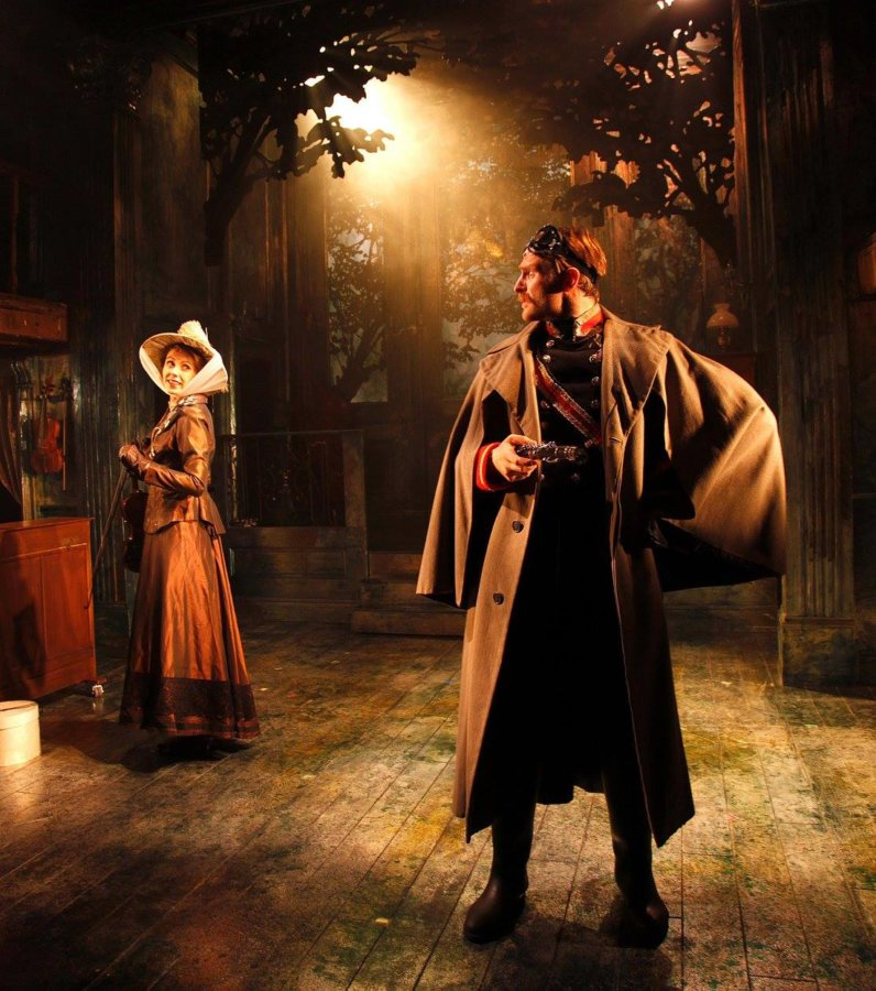 A Little Night Music – designed by David Woodhead at the Watermill Theatre
