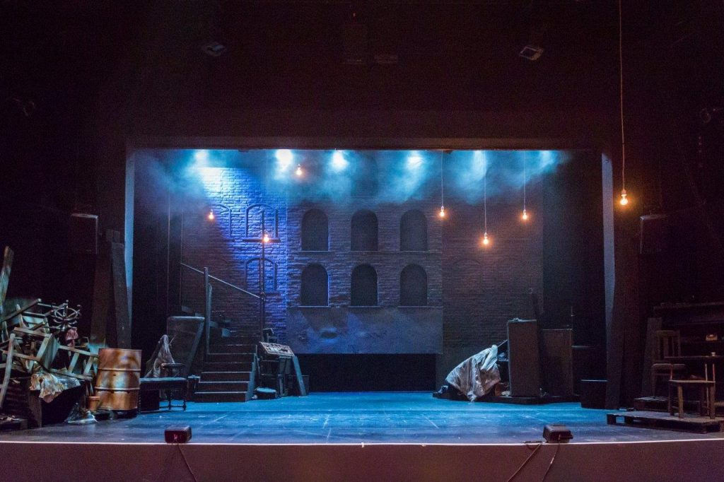 Children of the Night designed by Simon Wells at Oxford Playhouse