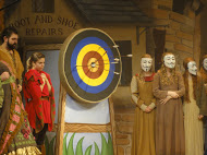 DSH Robin Hood Pantomime prop effect Archery Target