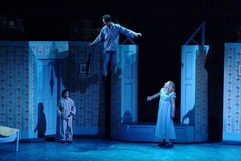 DSH Peter Pan pantomime Bedroom scene