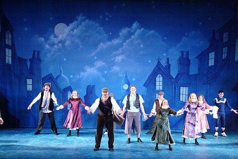 DSH Peter Pan pantomime London Rooftops