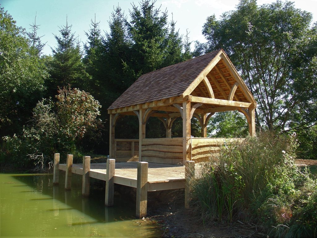 Green Oak Boathouse and Jetty