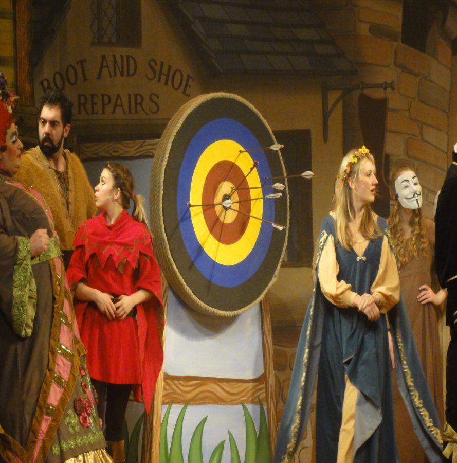 DSH Robin Hood pantomime Archery Target
