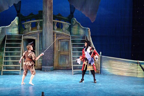 DSH Peter Pan pantomime Captain Hook's ship