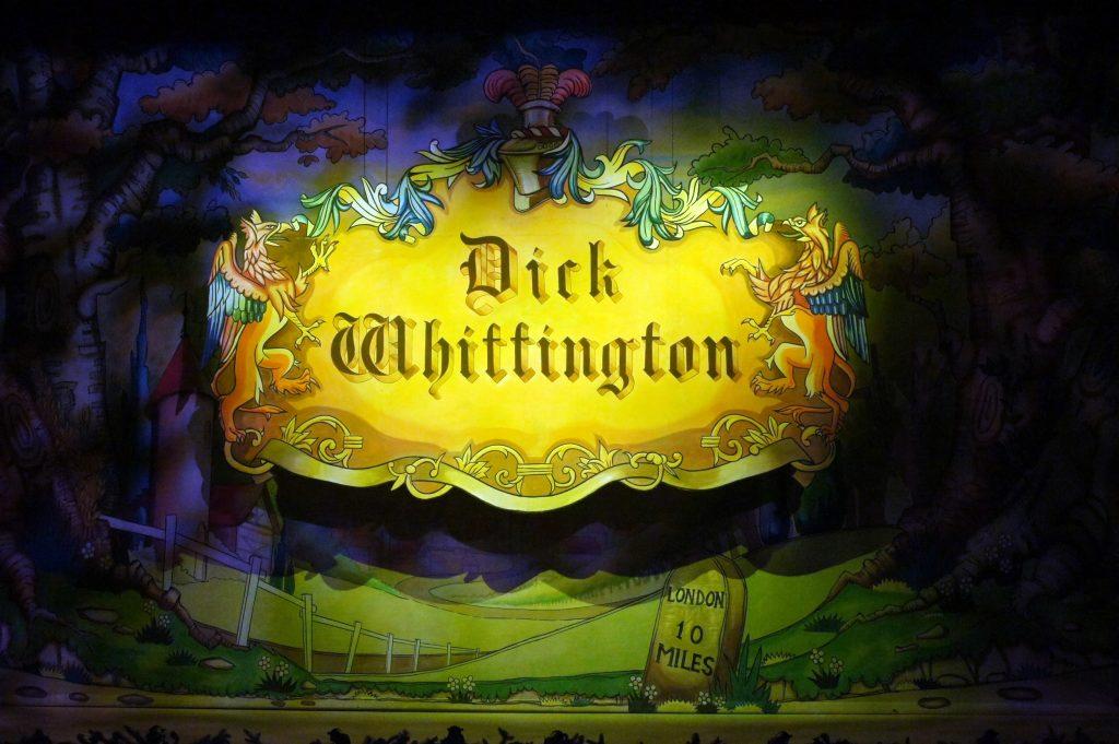 DSH Dick Whittington set 1 Cartouche and Show Cloth
