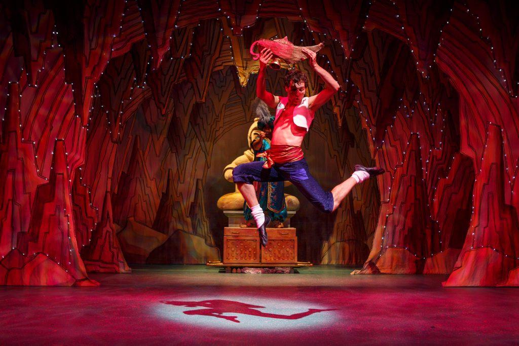 DSH Aladdin set 2 pantomime Inside the Cave - photography Steve Tanner