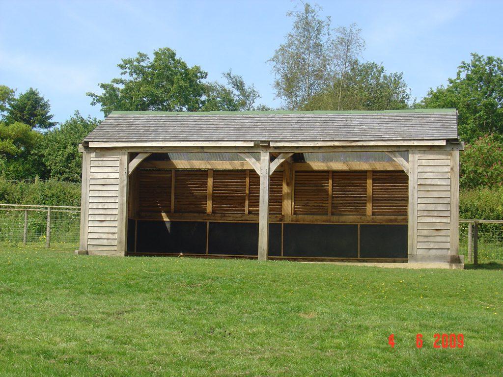 Green Oak Field Shelter