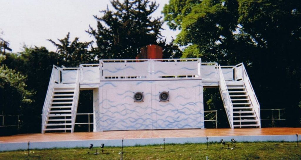 HMS Pinafore - designed by Patrick Watkinson at Polesden Lacey Open Air Theatre