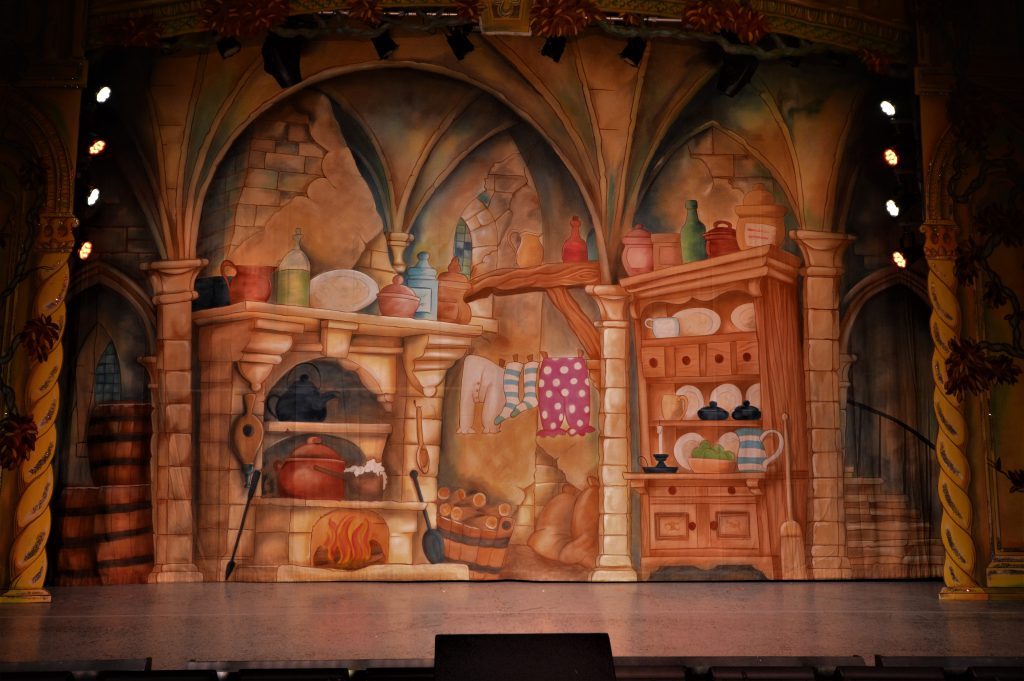 DSH Beauty and the Beast pantomime Kitchen Cloth