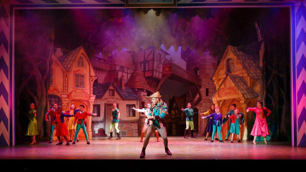 DSH Robin Hood Pantomime Nottingham Town - Steve Tanner