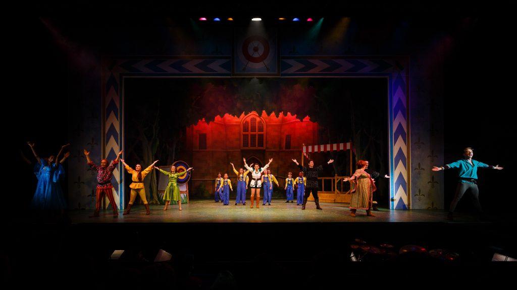 DSH Robin Hood Pantomime Outside the Castle - Steve Tanner
