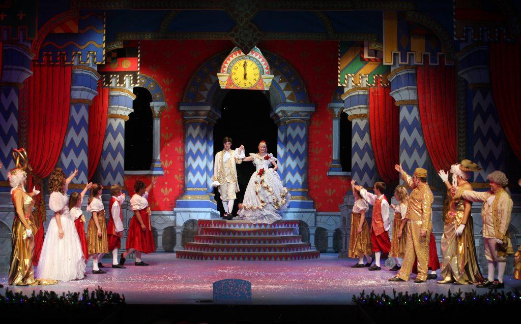 DSH Sleeping Beauty pantomime Palace Ballroom