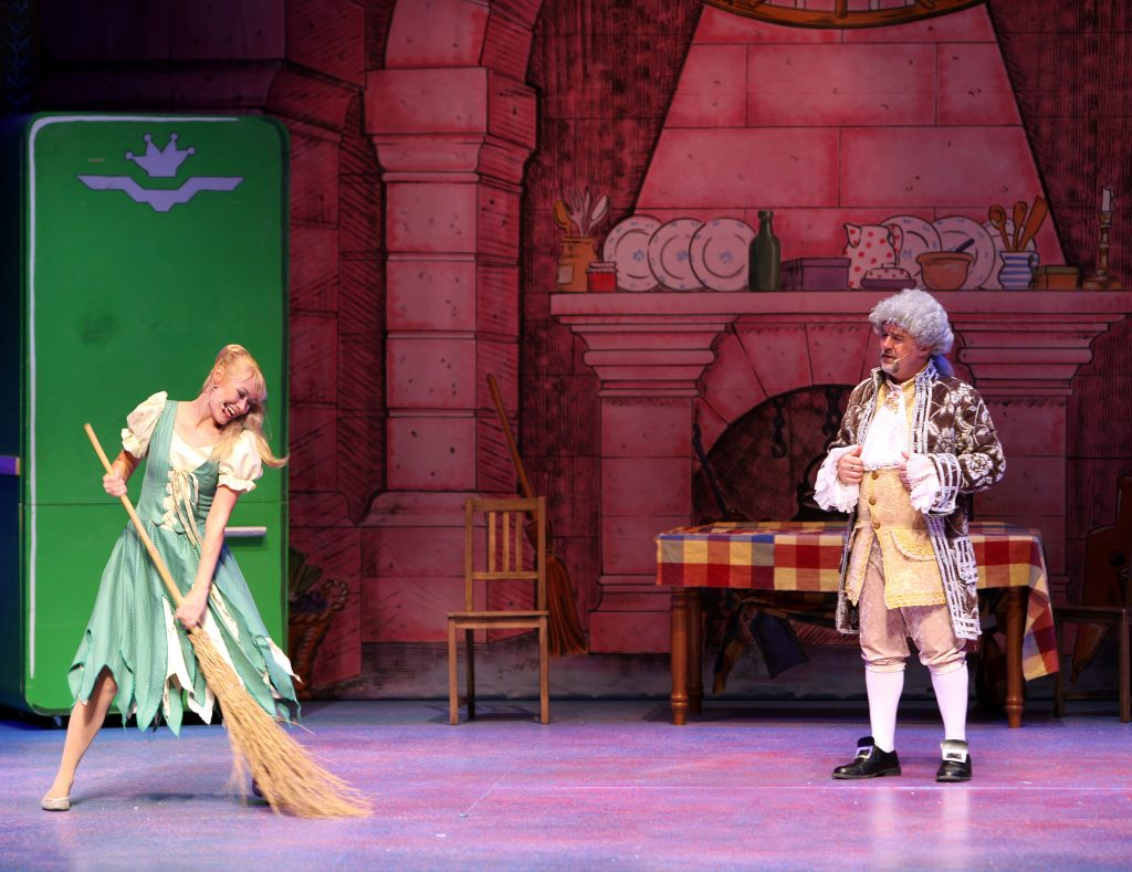 DSH Sleeping Beauty pantomime Palace Kitchen