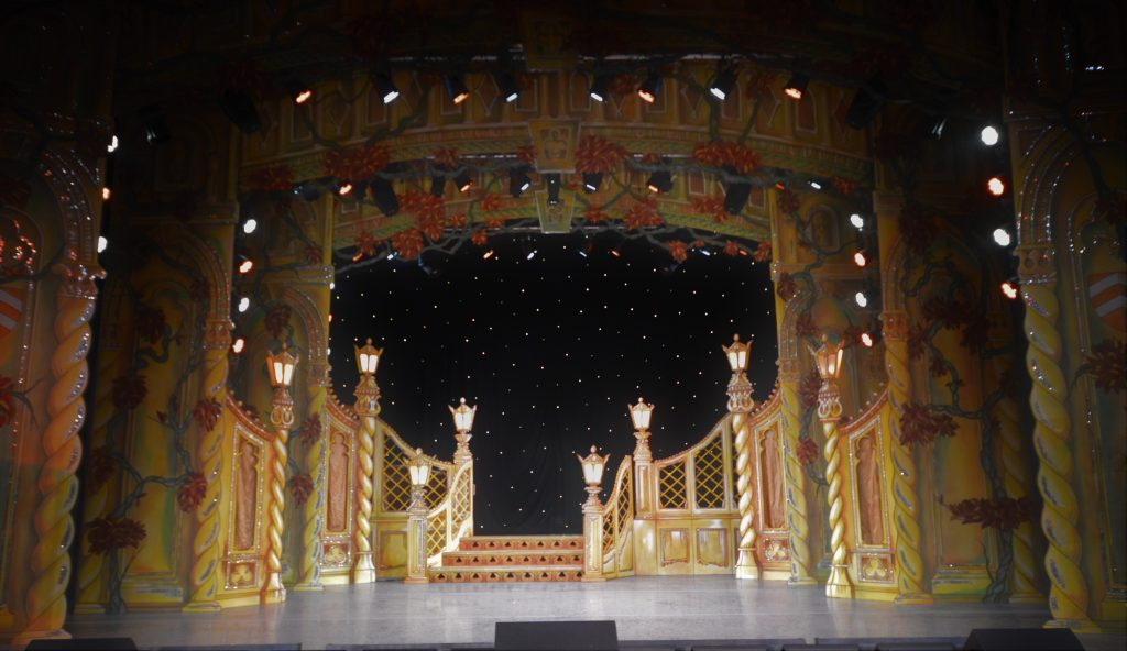 DSH Beauty and the Beast pantomime Palace Garden Walkdown