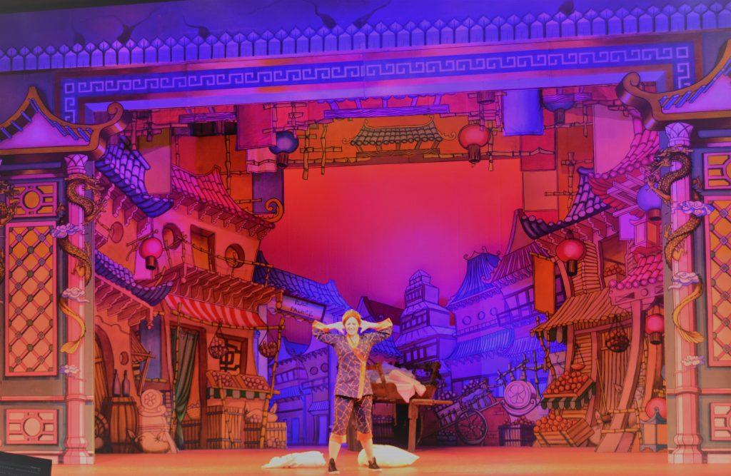 DSH Aladdin set 2 pantomime Peking Town