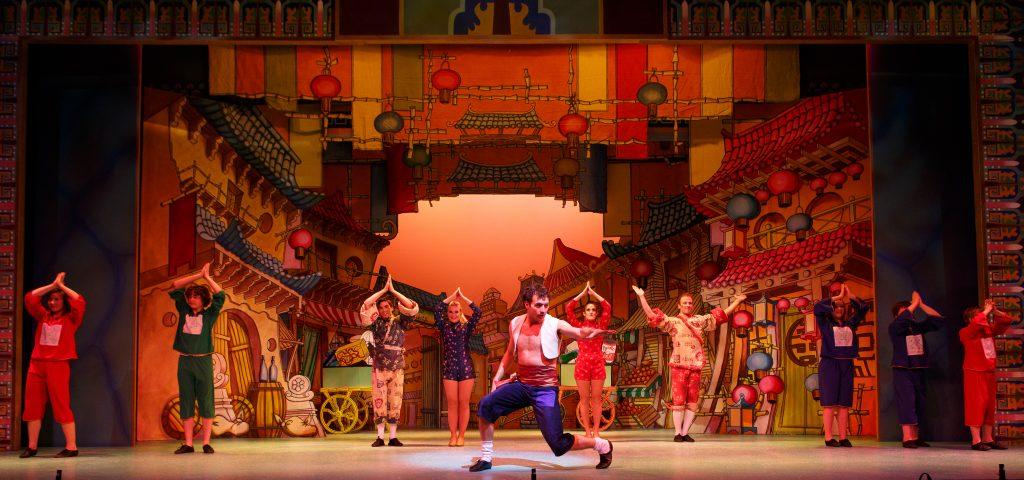DSH Aladdin set 2 pantomime Peking Town - Photo Credit: Steve Tanner