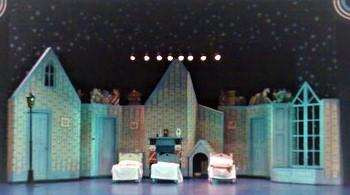 DSH Peter Pan pantomime The Darling Nursery . Act 1 Sc 2. Act 2 Sc 7.