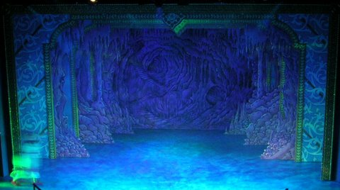 DSH Sleeping Beauty pantomime Carabosses Lair Act 2 Sc 4