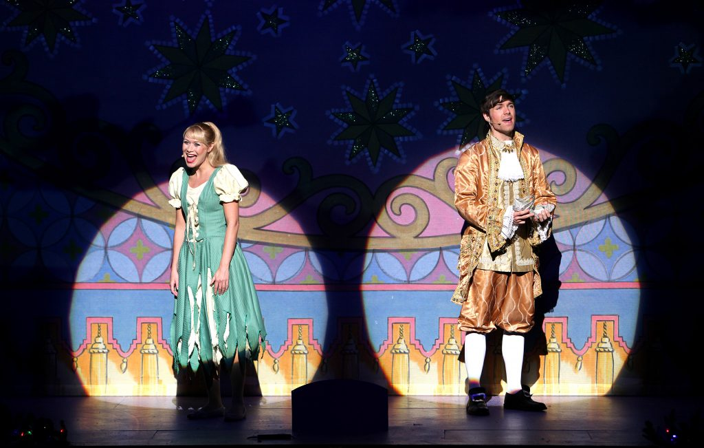 DSH Sleeping Beauty pantomime Show Gauze