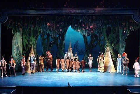DSH Peter Pan pantomime The Blue Lagoon