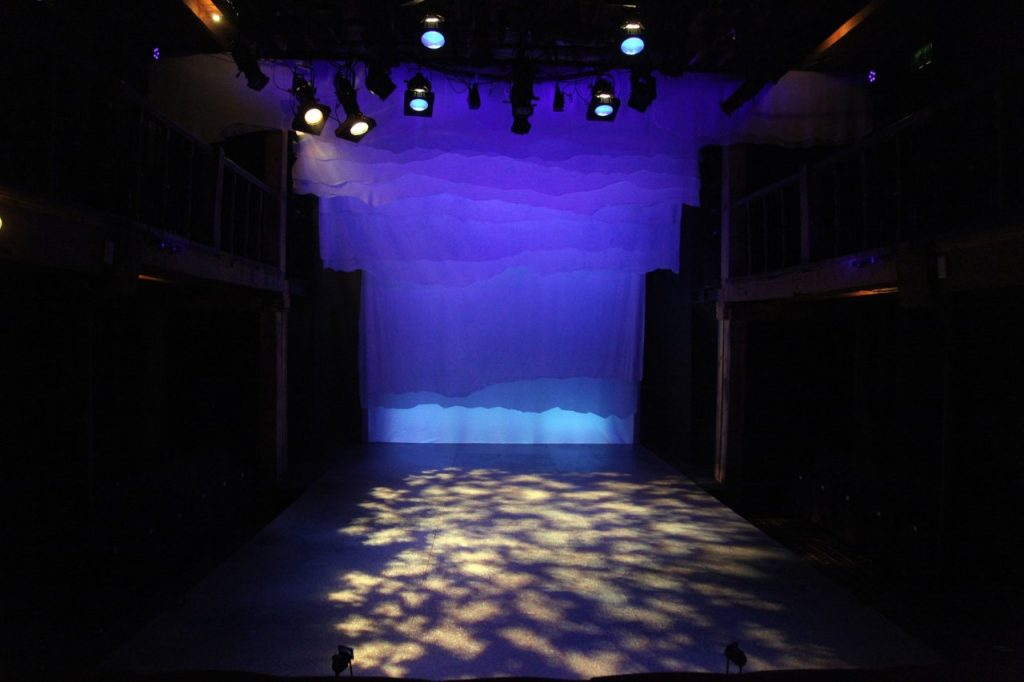 Under Milk Wood at The Watermill designed by Anne Kelsey