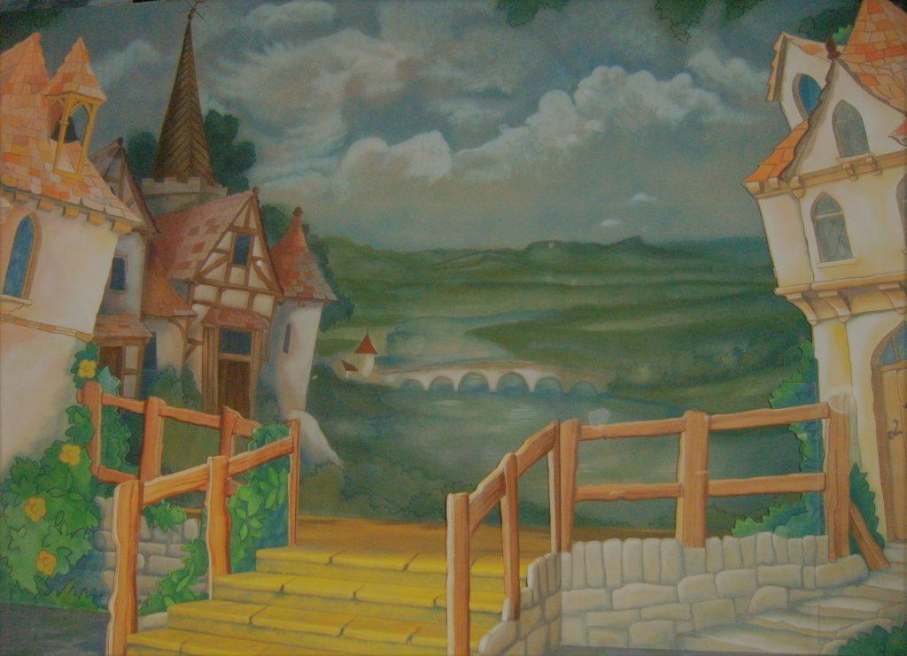 DSH Jack and the Beanstalk set 2 pantomime Village