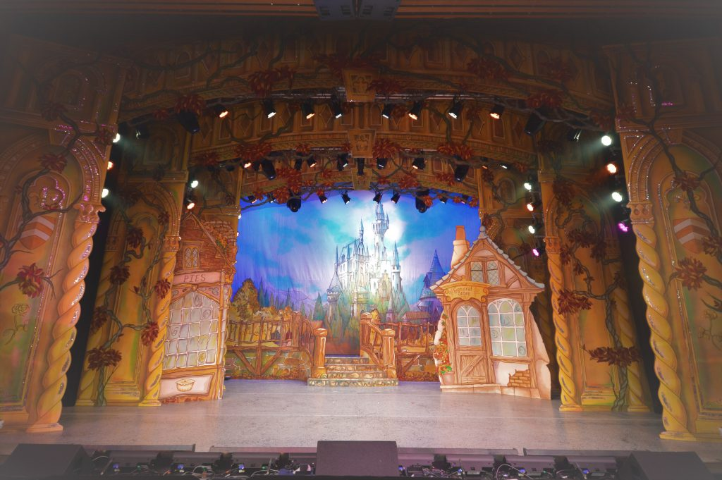 DSH Beauty and the Beast pantomime Village Scene