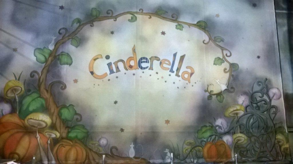 Cinderella show gauze, designed by Rebecca Lee