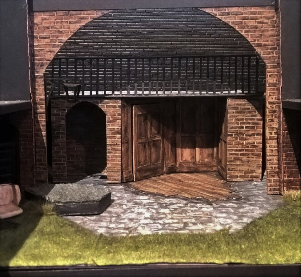 Ann Veronica, model box designed by Libby Todd at the Watermill Theatre