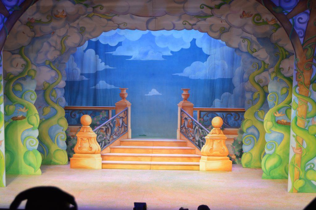 DSH Jack and the Beanstalk set 3 pantomime Walk Down Scene