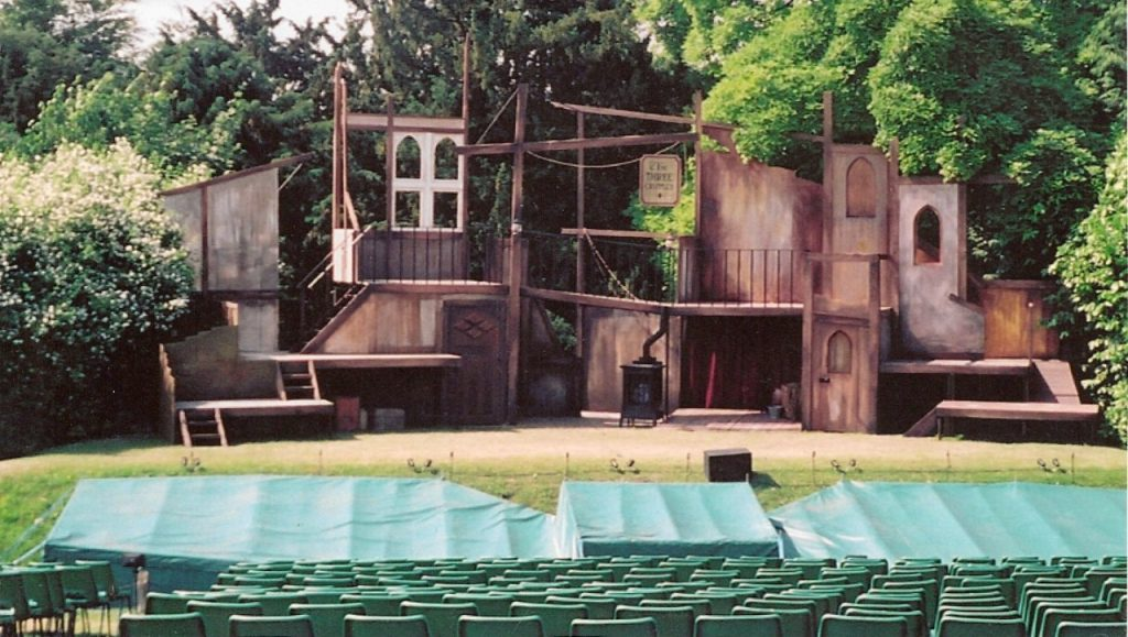 Oliver, designed by Gerry Bunzle at Polesden Lacey Open Air Theatre