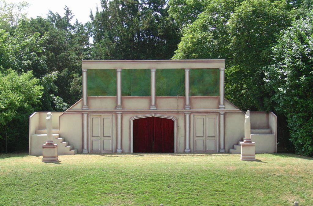 Romeo and Juliet, designed by Sarah Holland at Polesden Lacey Open Air Theatre