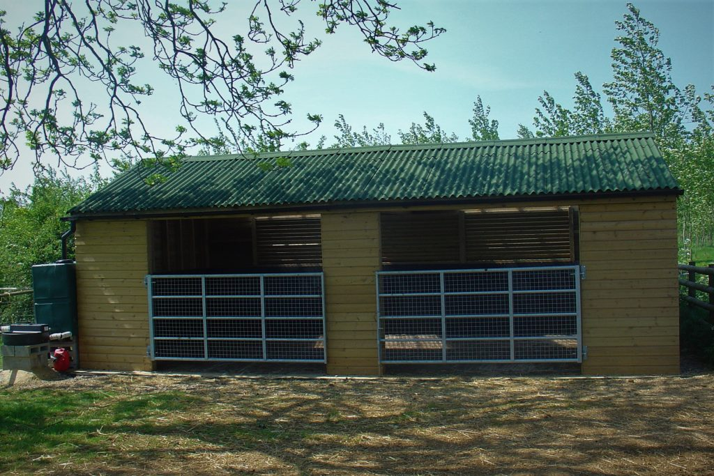 Softwood Field Shelter