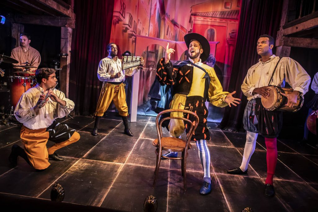 Kiss Me Kate - designed by Frankie Bradshaw built and painted by DSH for the Watermill Theatre