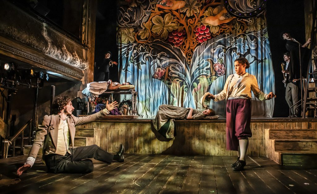 A Midsummer Night's Dream at Wilton's Music Hall, 2020 - designed by Katie Lias