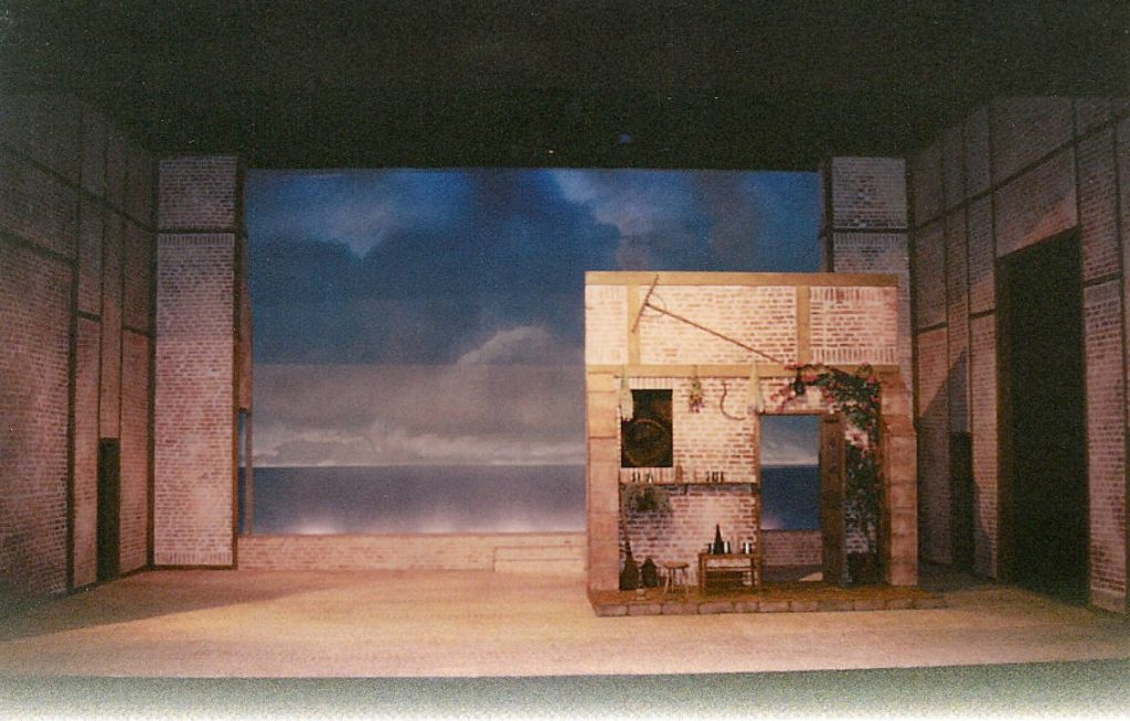 12th Night at the Thorndike Theatre, designed by David Roger