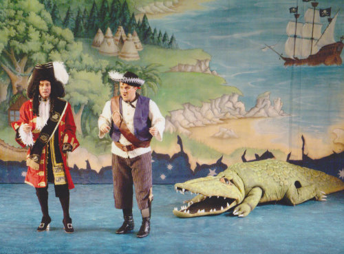 DSH Peter Pan pantomime crocodile costume