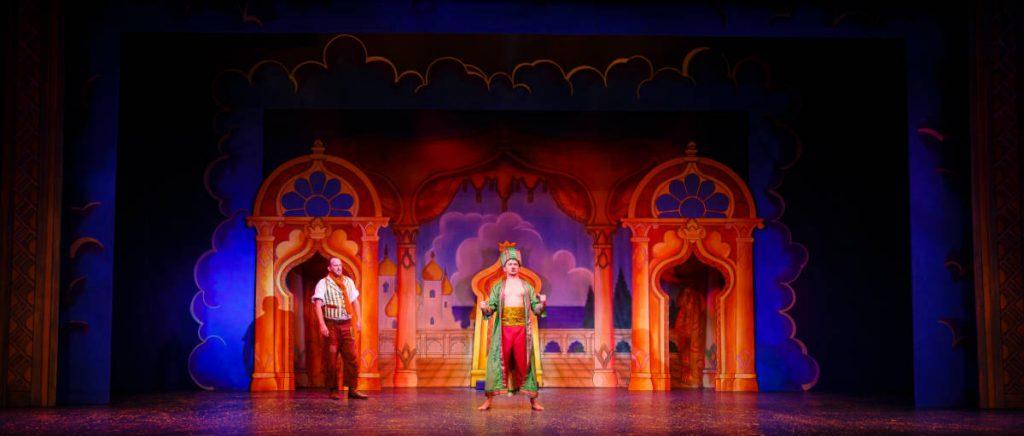 Dick Whittington set 2 - The Moroccan Palace s - photography Steve Tannercene. DSH Pantomime .