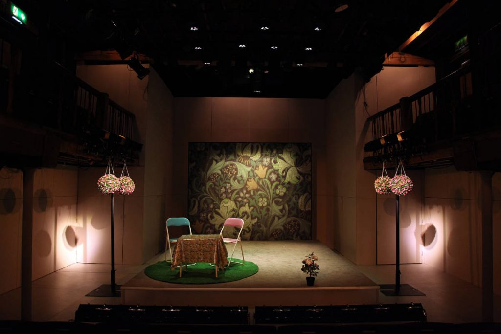 The Importance of Being Earnest - DSH scenery build designed by Amy Jane Cook at the Watermill Theatre