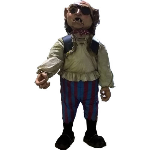 Giants - Gog, Jack and the Beanstalk pantomime, animatronic giant costume