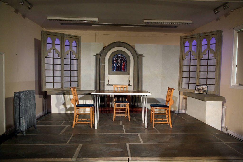 Our Church - rural tour for the Watermill Theatre designed by Anna Orton