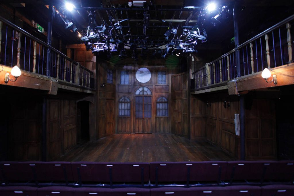 Trial by Laughter - DSH scenery construction designed by Dora Schweitzer for the Watermill Theatre.