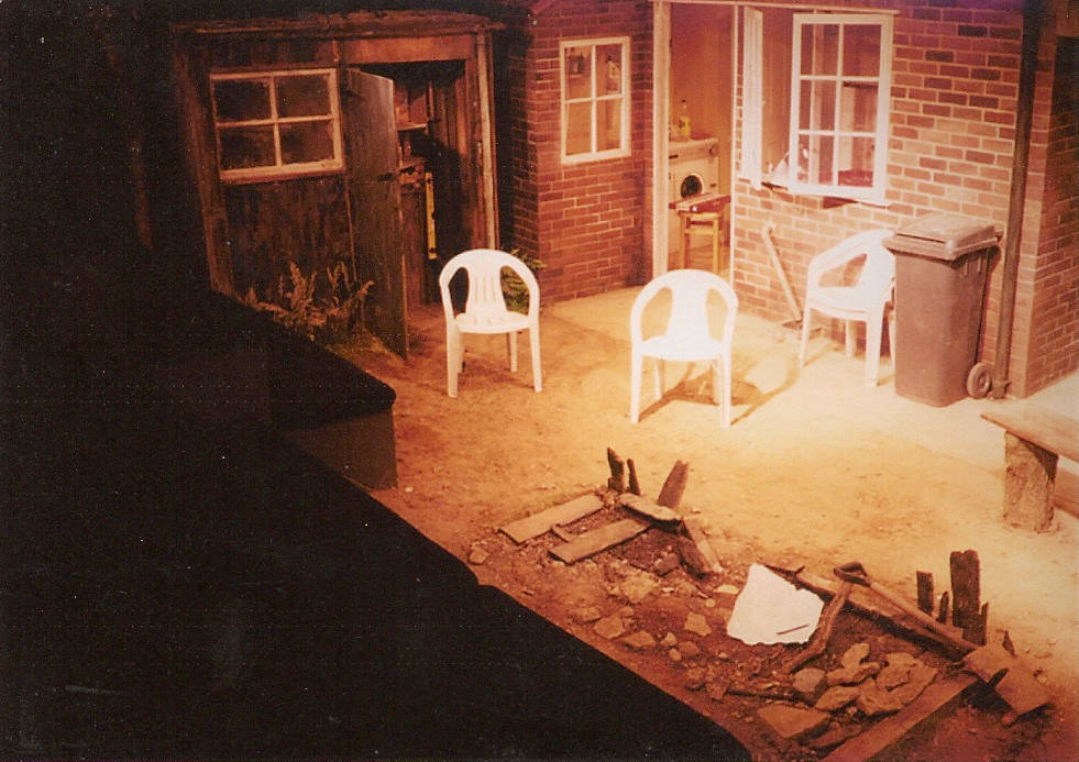 The Mortal Ash at The Bush Theatre, designed by Anthony Lamble